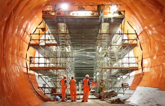 Crossrail Gantry